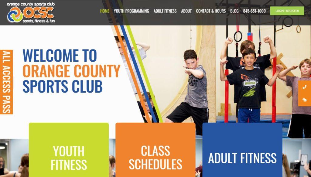 Orange County Sports Club Website