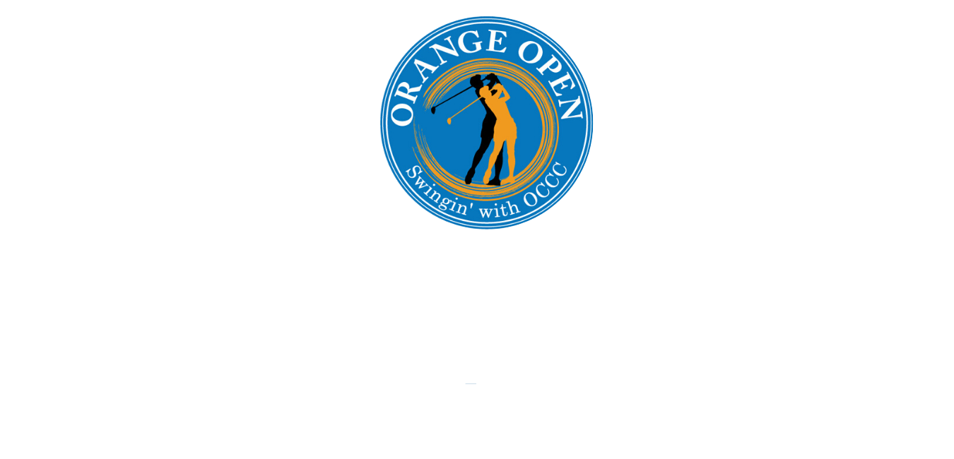 22nd Annual Golf Tournament - Campbell Hall, NY - OCCC